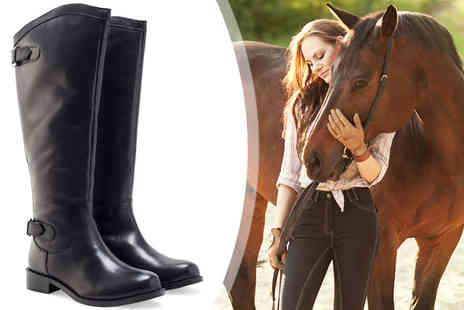 Redfoot Shoes - Ladies Elasticated Riding Boots - Save 73%