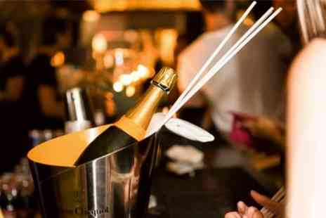 JuJu  - Bottle of Veuve Clicquot and Sharing Platter for Two   - Save 58%