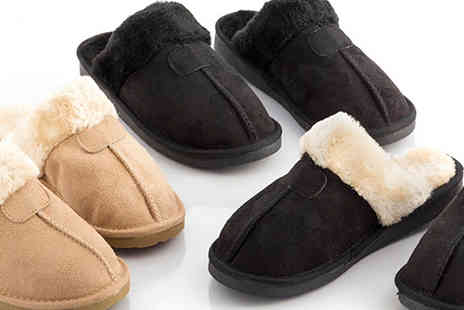 Delizius Deluxe - Relax Faux Fur Slippers - Save 42%