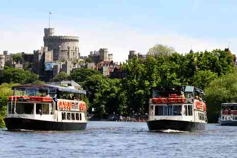 French Brothers Boat Cruises - A day trip for two on the Runnymede Windsor Thames riverboat cruise for 2 - Save 28%