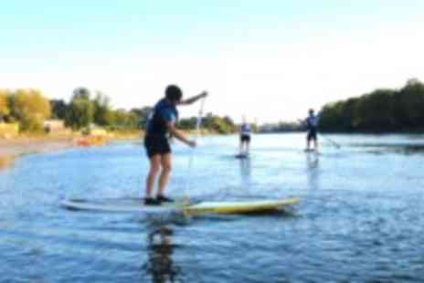 Active360 - Two-hour paddle boarding lesson plus a meal for two - Save 48%