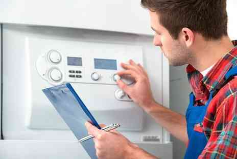 GS Plumbing - Full boiler service - Save 61%