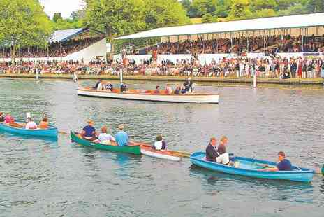 Maidenhead Steam Company - Henley Royal Regatta Package with Champagne, Lunch and River Cruises - Save 32%
