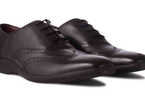 Redfoot Shoes - Mens Cushioned In Step Leather Oxford Shoe - Save 79%