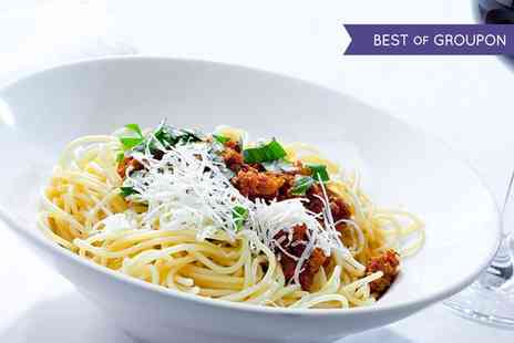 The Blue Bella Bistro - Two Course Italian Meal with Prosecco for Two or Four - Save 35%