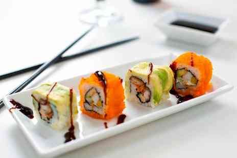 Note Bar and Lounge - Six Sushi for Two with Optional Cocktail - Save 30%
