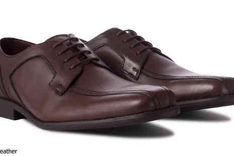 Redfoot Shoes - Mens Cushioned In Step Leather Gibson Shoes - Save 79%
