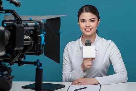 The TV Training Academy - One day  Be a TV Presenter training course  - Save 90%