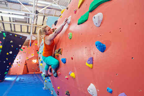 The Arch Climbing Wall - One hour introduction to climbing and a one day climbing pass   - Save 67%