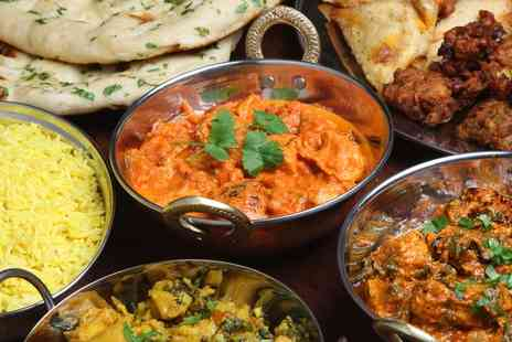 The Raj - Two Course Indian Meal for Two or Four  - Save 52%