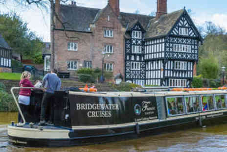 Bridgewater Cruises - Canal Cruise and Afternoon Tea for Two - Save 47%