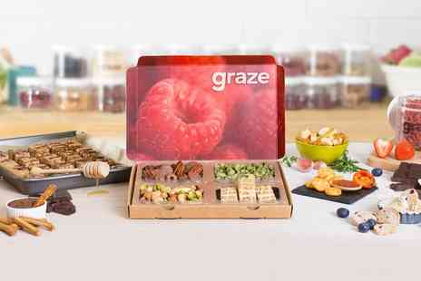 Nature Delivered - First Four Graze Boxes With Free Delivery - Save 69%