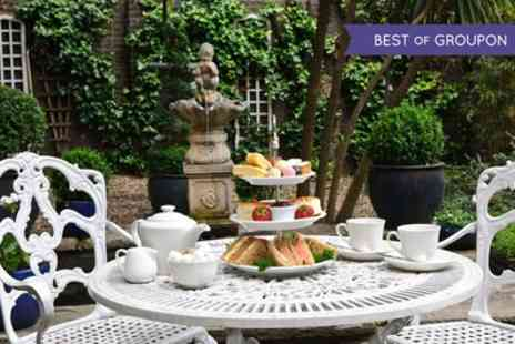 Academy Town House Hotel - Afternoon Tea with Optional Prosecco for One or Two  - Save 38%
