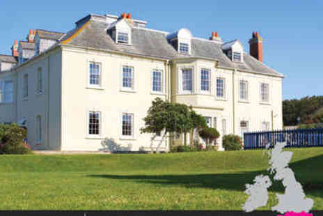 Moonfleet Manor - One or Two Night stay With full English breakfast - Save 0%
