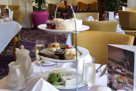 The Angel Hotel   - Afternoon Tea with Optional Prosecco for Two  - Save 40%