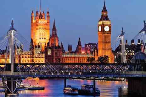 Thames Party Boats   - Four Hour Thames Boat Party Tickets with Sparkling Wine   - Save 50%