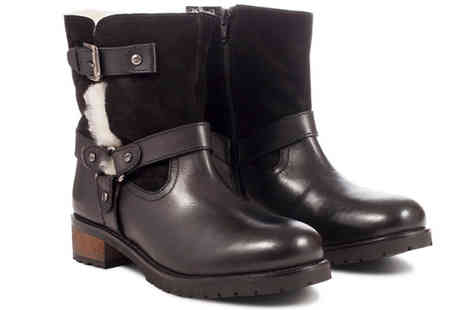 Redfoot Shoes - Ladies Warm Lined Boots - Save 83%