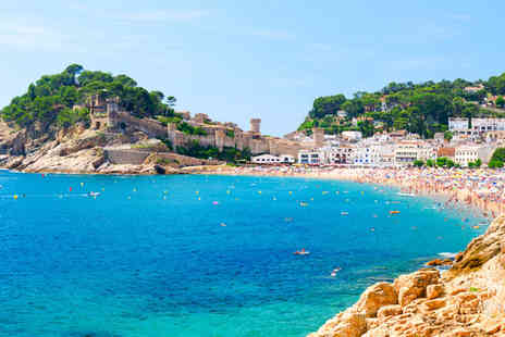 Crystal Travel - Three or Seven Nights stay in Costa Brava All Inclusive with Flights and Hotel - Save 0%