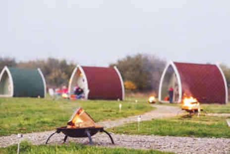Stanley Villa Farm Camping - One or Two Night Stay For Two in a cosy camping pod - Save 0%