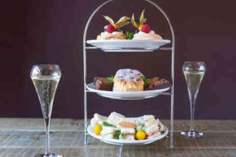The Northumberland Arms - Afternoon Tea with Prosecco for Two - Save 0%