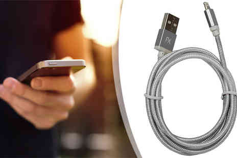 Harvey Robb - Braided iPhone Charging Cable - Save 53%