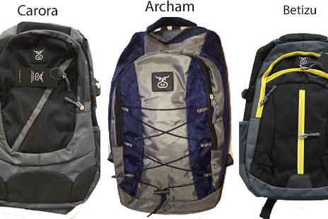 Mccalifornia - Choice of Three 600D Polyester Rucksacks - Save 78%