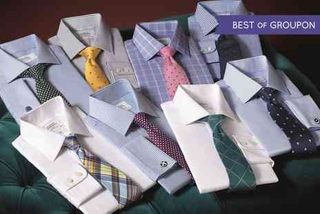 Charles Tyrwhitt - £40 Towards Shirts, Suits and Casual Attire Online  - Save 50%