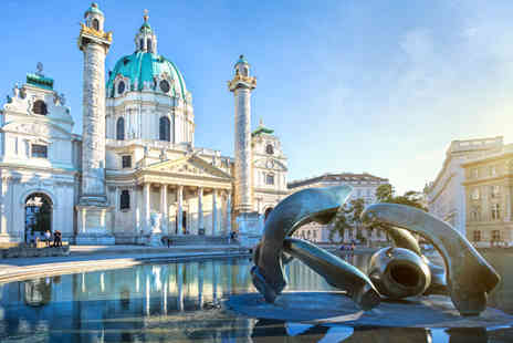 Broadway Travel Service   - Two Nights Stay in Vienna B&B with Return Flights - Save 26%