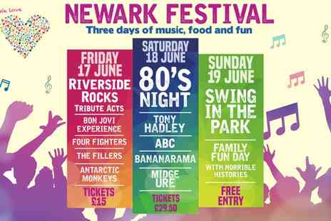 LHG Live - Tickets to Newark Festival On 17 or 18 June  - Save 0%