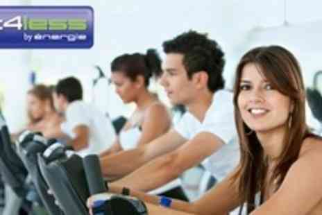 Fit4Less - Ten Gym Passes With Training Program and Access to Classes - Save 76%