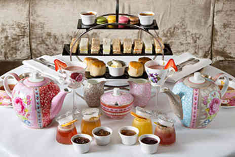 Hush -  Champagne Afternoon Tea for Two - Save 25%