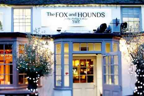 The Fox and Hounds Restaurant  -  Chateaubriand & Bubbly for Two - Save 32%