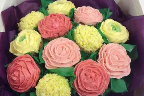 Queen of Tarts - Mothers Day Bouquet of Cupcakes - Save 0%