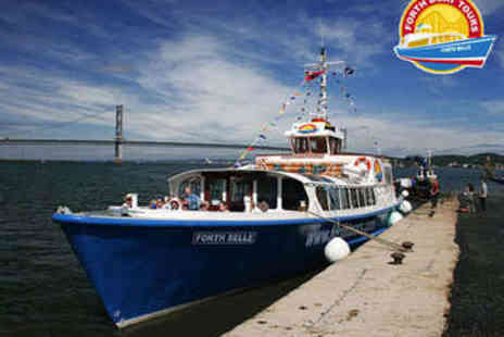 Forth Boat Tours -  Forth Bridges Cruise Two Tickets - Save 50%