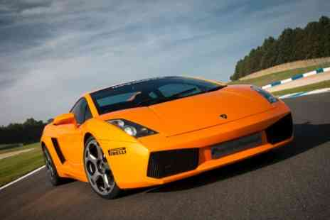 Top UK Race Tracks  - Fantastic Four Supercar Thrill  - Save 0%