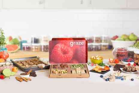 Graze - £14 to Spend on Snack Boxes  - Save 64%