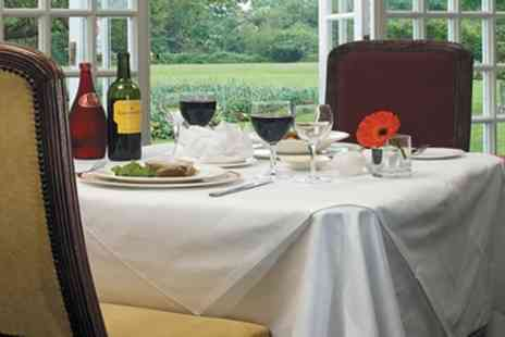 Grovefield House Hotel - Three Course Evening Meal for Two with Wine - Save 0%