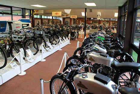 National Motorcycle Museum - Visit to The National Motorcycle Museum for Two Adults and Two Children - Save 0%