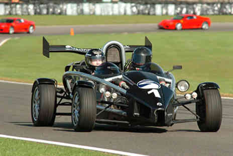 Top UK Race Tracks  - Supercar Thrill plus High Speed Passenger Ride  - Save 0%