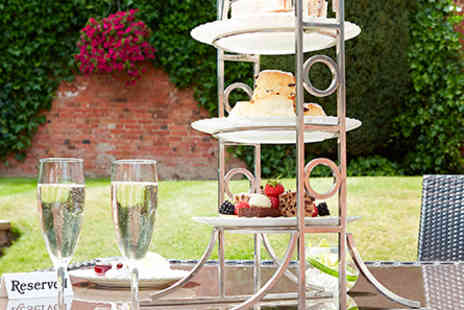 The Belfry - Champagne Afternoon Tea for Two - Save 0%