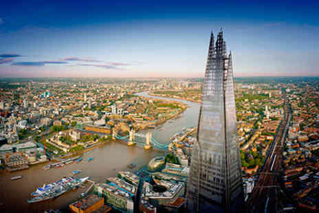 Gordon Ramsay - The View from The Shard and Three Course Lunch with Champagne  for Two - Save 0%