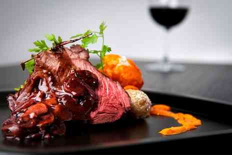 32 Queens Court - Sirloin Steak Meal with Wine for Two or Four   - Save 41%