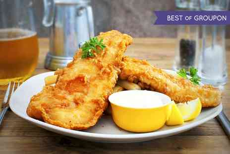 Toast Cafe Bar & Grill  - Fish and Chips or Scampi and Chips for Up to Eight   - Save 50%