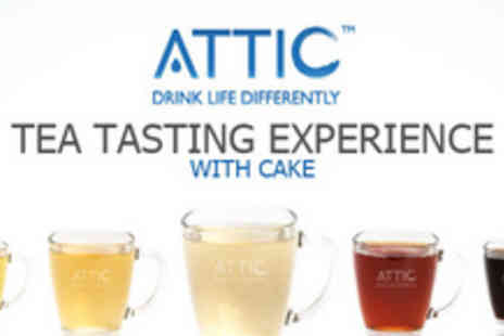 Attic - Try something different this Easter and experience a tea tasting session - Save 60%