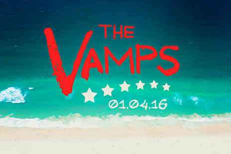 The Vamps - The Vamps Live with Dinner and Wine for Two On 1 April 2016 - Save 0%