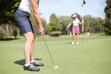 Rutland County Golf Club - Introduction to Golf Six Week Golf Lesson Ladies or Mixed Group - Save 60%