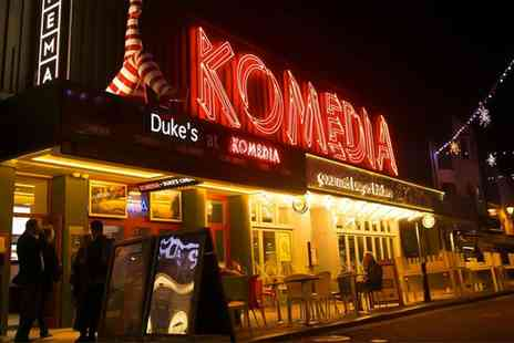 Komedia Brighton - Krater Comedy Club Entry and Burger for One, Two or Four  - Save 48%