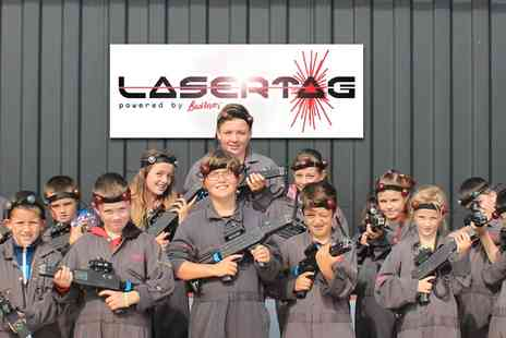 Bedlam Paintball - Laser Tag Party for Up to 12 Kids  - Save 50%