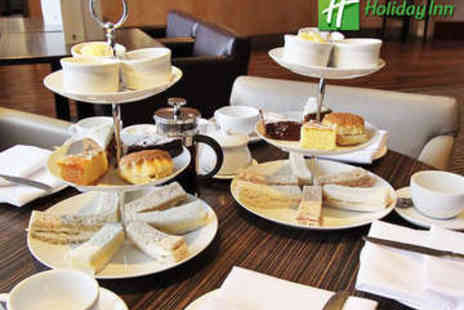 Holiday Inn  - Afternoon Tea for Two - Save 47%