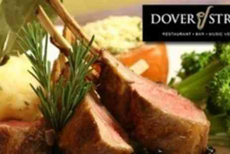 Dover Street - Five course meal for two with a Bellini on arrival - Save 66%